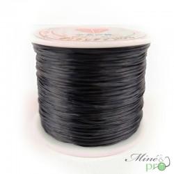 Bobine fil élastique multibrins noir 0.8mm